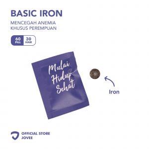 Basic Iron - Mencegah anemia khusus perempuan