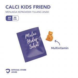 Calci Kids Friend - Menjaga kepadatan tulang anak