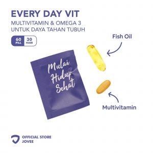 Every Day Vit Plus - Multivitamin & Omega 3 untuk daya tahan tubuh