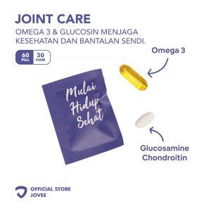 Joint Care - Omega 3 & Glucosin menjaga kesehatan dan bantalan sendi