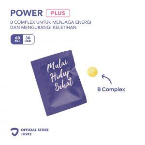 Power Plus - B Complex untuk menjaga energi dan mengurangi keletihan