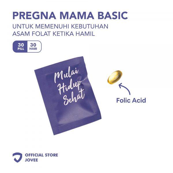 Pregna Mama Basic - untuk memenuhi kebutuhan Asam Folat ketika hamil