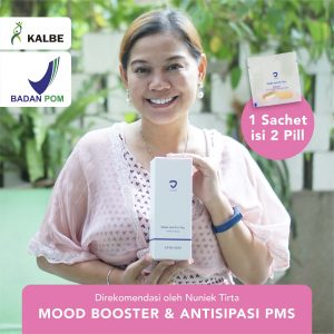 Mood Booster (Anti Mood Swing), Antisipasi PMS & Menopause by Nuniek Tirta | Blackmores BPOM KALBE