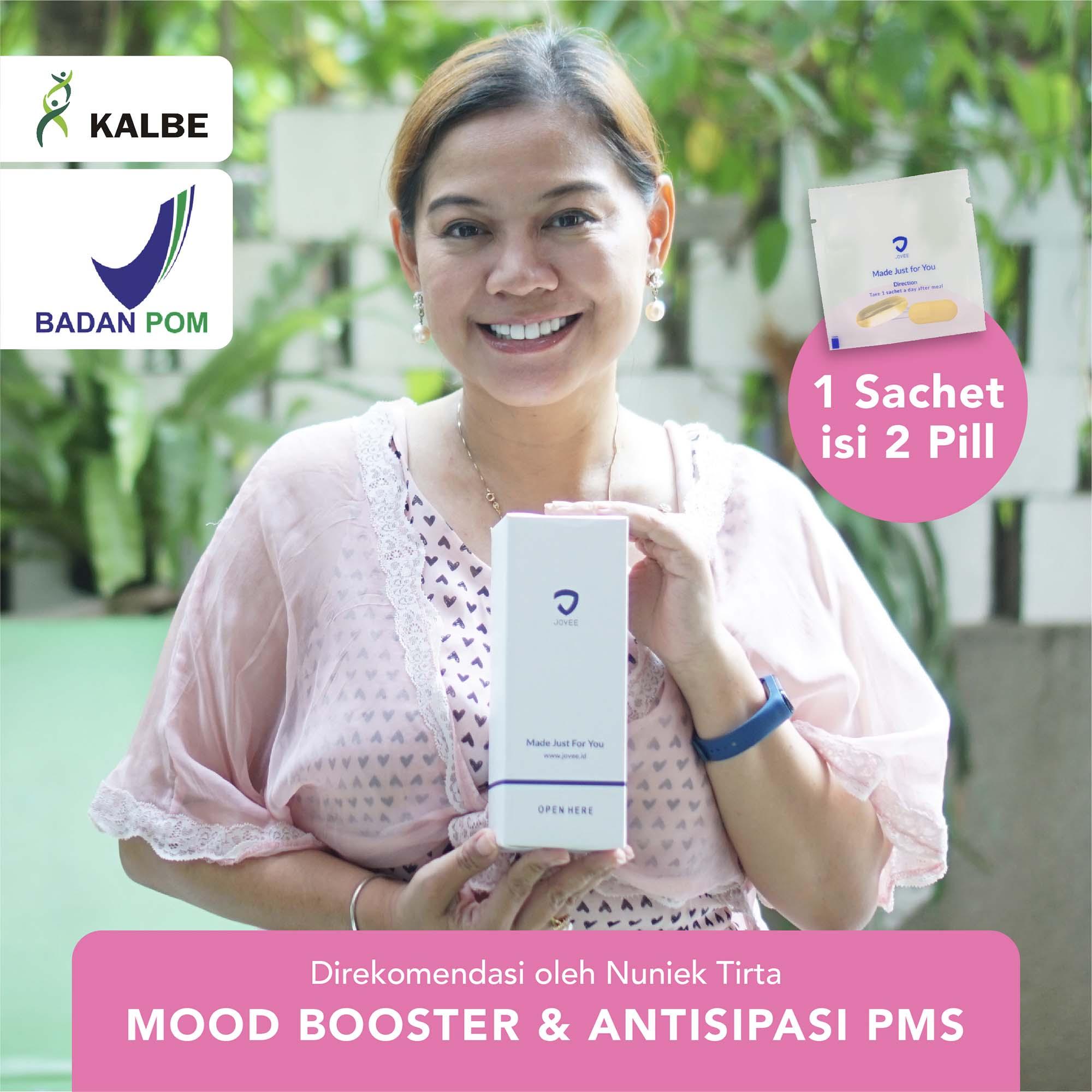 Mood Booster (Anti Mood Swing), Antisipasi PMS & Menopause by Nuniek Tirta | Blackmores BPOM KALBE