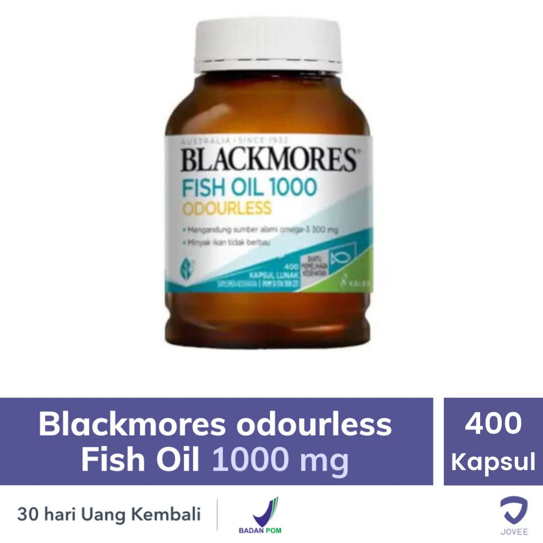 Blackmores Odourless Fish Oil 1000mg - Jovee