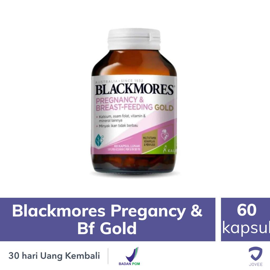 Blackmores Pregnancy & Bf Gold - 60 Kapsul