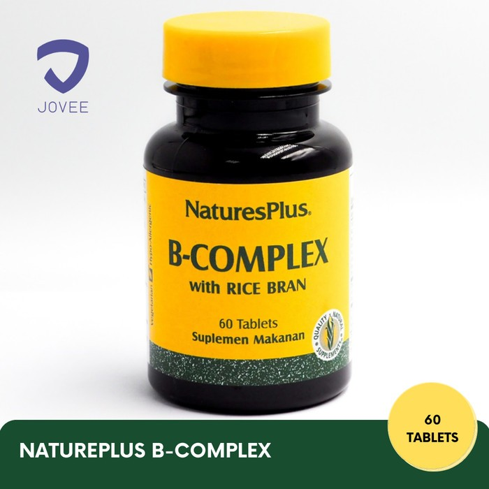NATURES PLUS B COMPLEX – DAYA TAHAN TUBUH – 60 KAPLET
