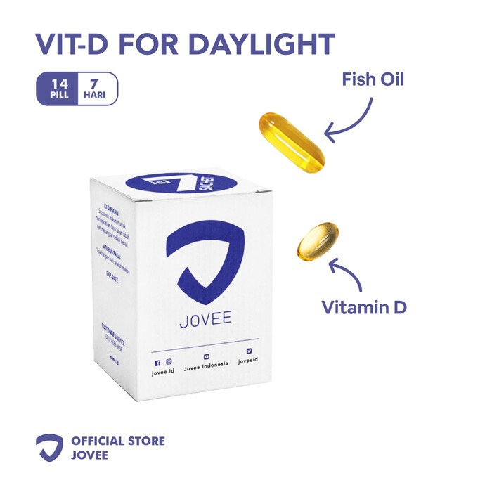 Vitamin D for daylight by JOVEE – 7 days