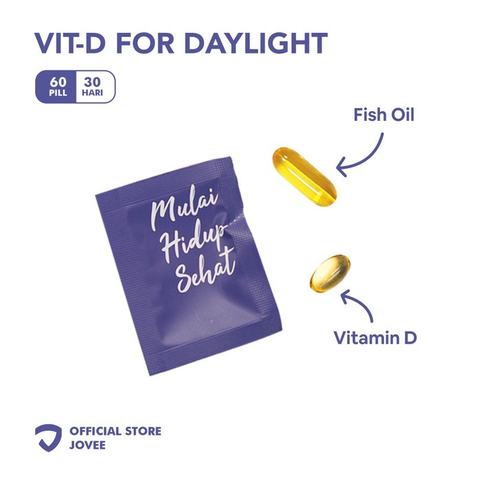 Vitamin D for daylight by JOVEE