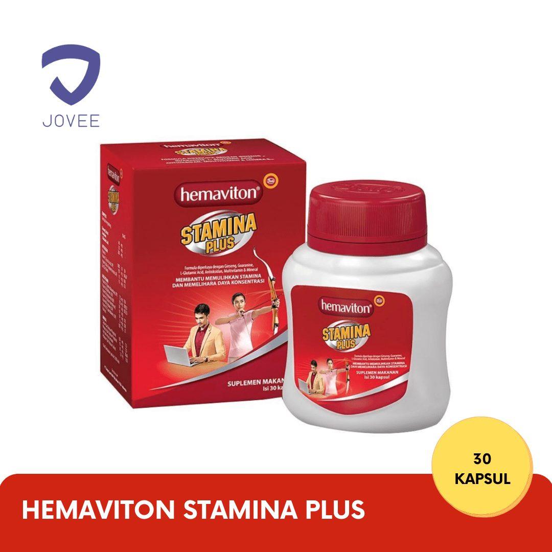 Hemaviton Stamina Plus pil ginseng